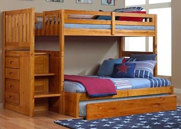 Stoney Creek Twin over Twin Stairway Bed