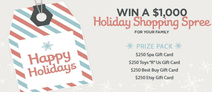 "Enter now to win $1000 Holiday shopping spree for your family from Toys ""R"" Us, Etsy, Best Buy and your favorite Spa. Happy Holidays from Red Tricycle!  Red Tricycle is an online city guide for busy parents, we offer ideas for cool things to see, eat and do with your kids."