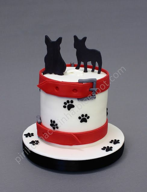 French Bulldog Cake  https://www.facebook.com/Pirikos