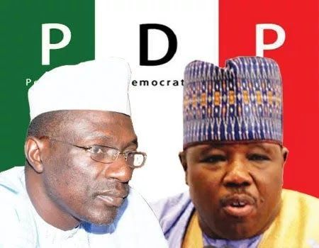 LOYALISTS of Senator Ali Modu Sheriff in Ekiti State chapter of the Peoples Democratic Party (PDP) have said they will not leave the party following the recent Supreme Court judgement that deposed Sheriff.  The PDP members had said in a statement on Sunday that they had not defected to Mega Party of Nigeria (MPN) and denied the reports in the state that they had joined the new party.  The PDP members who spokeunder the auspices of PDP Elders Forum also deniedthat they were all moving to the…