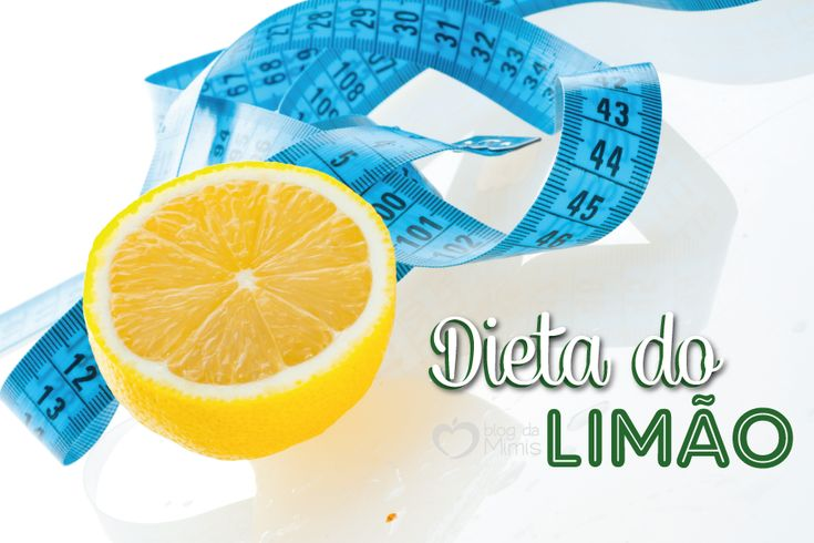 Dieta do Limão - Blog da Mimis - Vocês já ouviram falar nos benefícios da água com limão? Além de deliciosa, refrescante e hidratante, ela ajuda no processo de emagrecimento.