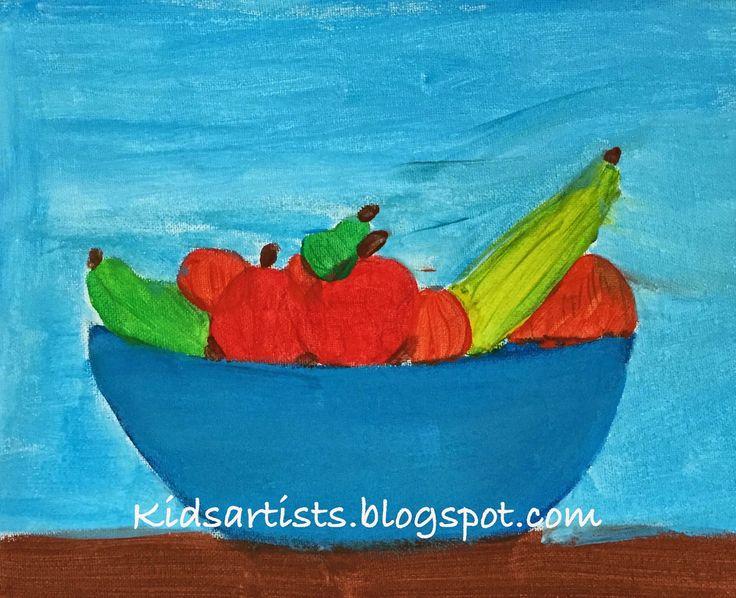 Kids Artists: acrylic paint
