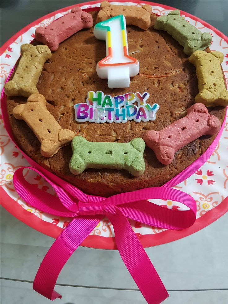 Pleasant Doggie Birthday Cake For Dogs Recipe Dog Cake Recipes Dog Funny Birthday Cards Online Overcheapnameinfo