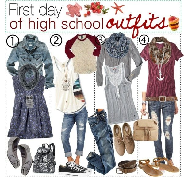 Cute Back To School Outfits For High School Tumblr ...