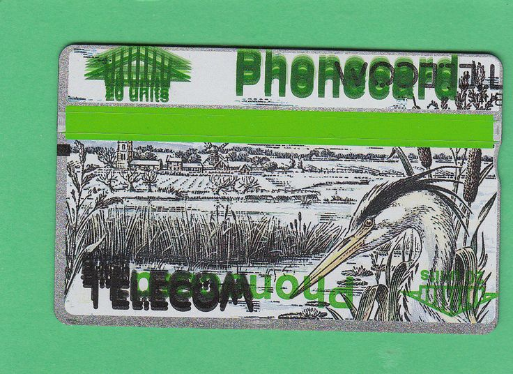 Misprinted/test printed Winter 1989 - Heron BT Phonecard (BTC011)