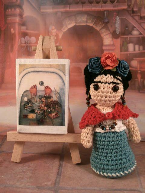 Moñacos, cosicas y meriendacenas: Frida Khalo