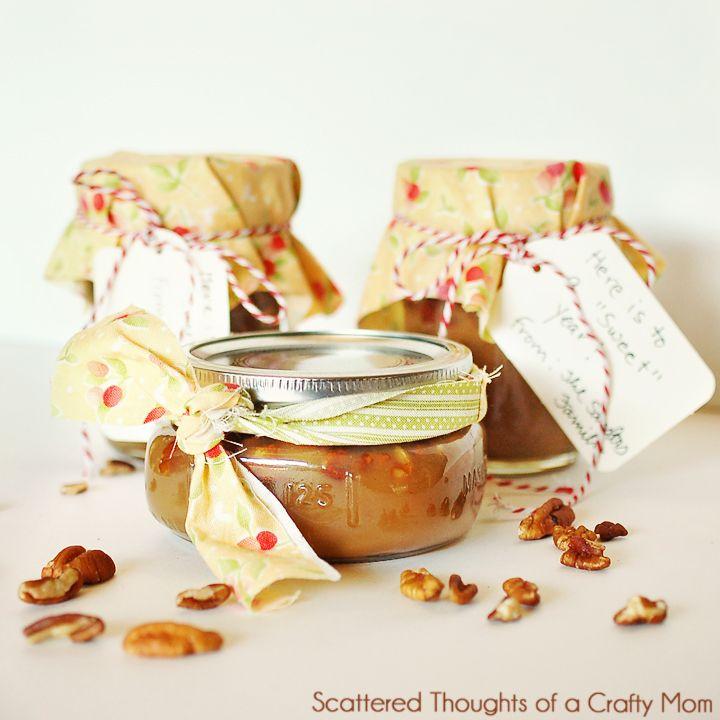 Pecan Praline SauceSchools Teachers, Teacher Gifts, Scattered Thoughts, Crafty Mom, Teachers Gift, Gift Ideas, Pecans Praline, Ice Cream, Praline Sauces