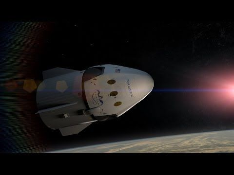 Meet SpaceX's New Manned Dragon: Cool Animation Shows 'How It Works'