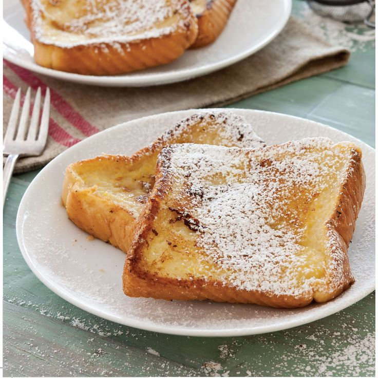 """A traditional south Louisiana Pain Perdu, or """"Lost Bread."""""""
