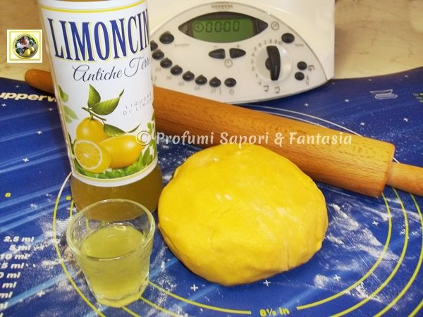 Pasta frolla al limoncello