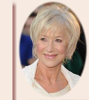 Jolie coupe de cheveux pour femme de 60 ans