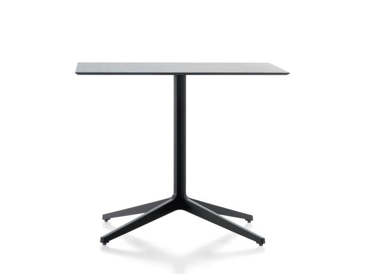 YPSILON 4 Square coffee table by PEDRALI design Jorge Pensi