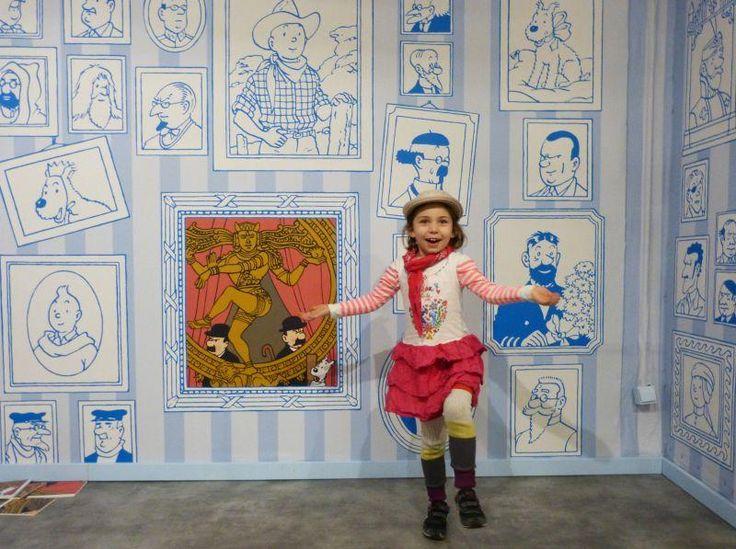 En 2015, à l'occasion des 40 ans du Musée en Herbe, Tintin pose sa valise à Paris. Les trésors d'Hergé sont exposés, enrichis par des œuvres de musées et de galeries.