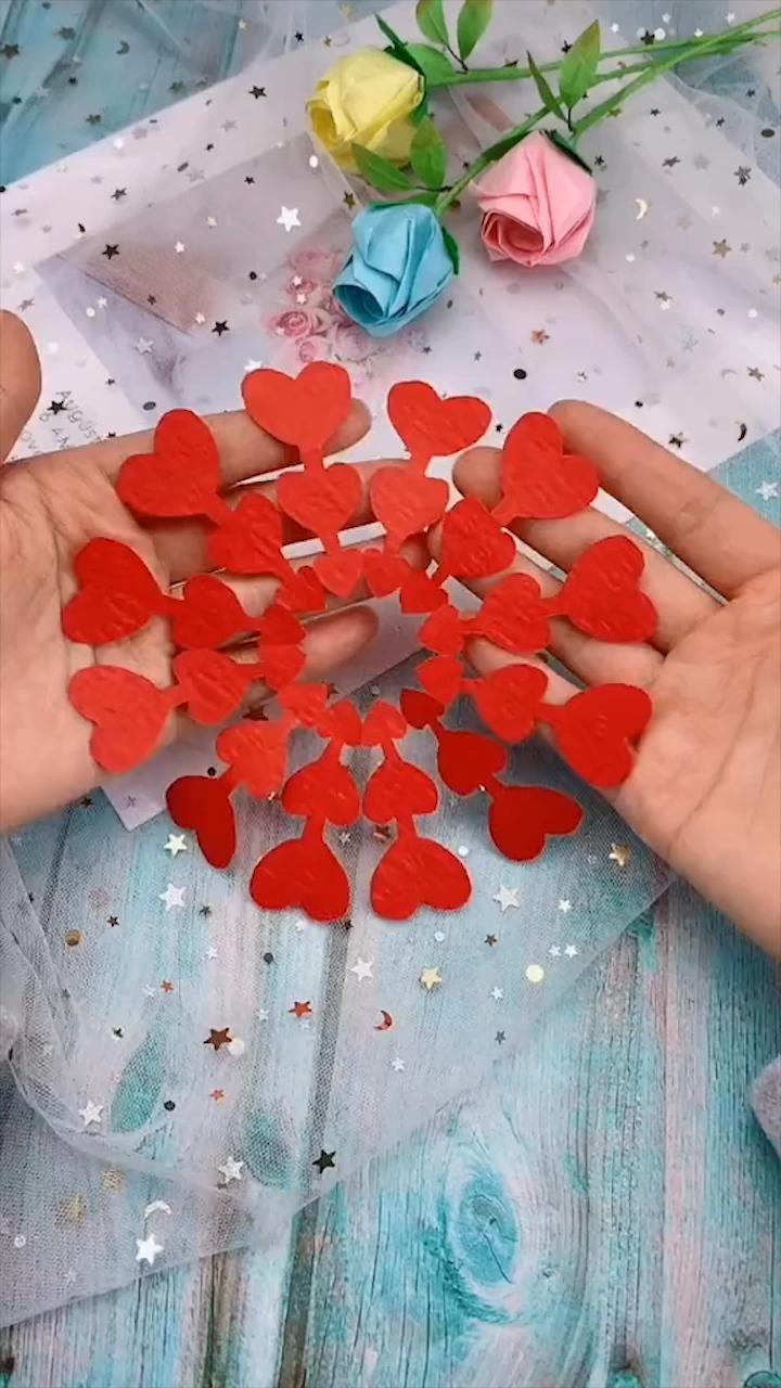 Creative handicraft [Video] in 2020   Paper crafts diy ...