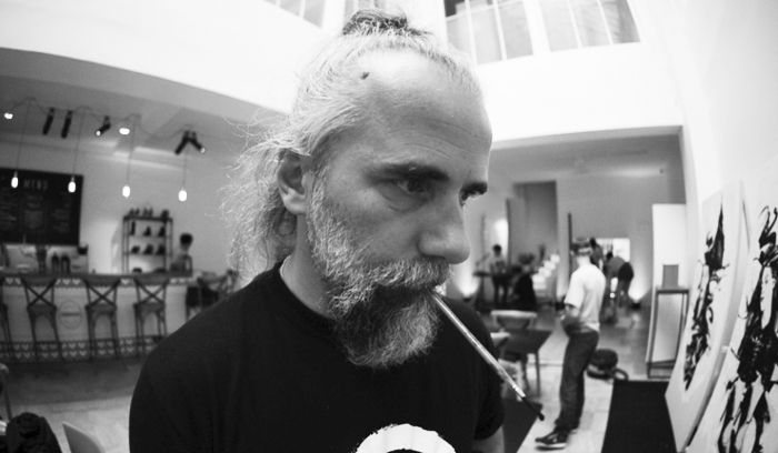 Bruno Leyval – Live painting Sarenza Images : Blast 707 Photography - YAnnick Cordémy - Jules Claustrat Montage Vidéo : Frédéric Claquin