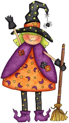 witch.quenalbertini: Cute halloween witch