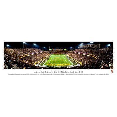 BlakewayPanoramas NCAA End Zone Unframed Panorama NCAA Team: Arizona State University