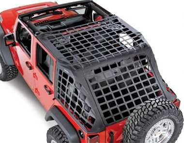 Truck Accessories and Jeep Accessories By Central 4 Wheel Drive - Smittybilt C.RES Cargo Net System - Jeep JK Wrangler 4dr '07-11 $110