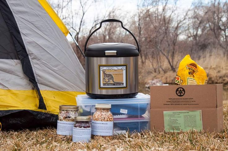 Cooking without Power cooking away from home. Let's Make Sense of Thermal Cooking by Cindy Miller www.saratogajacks.com