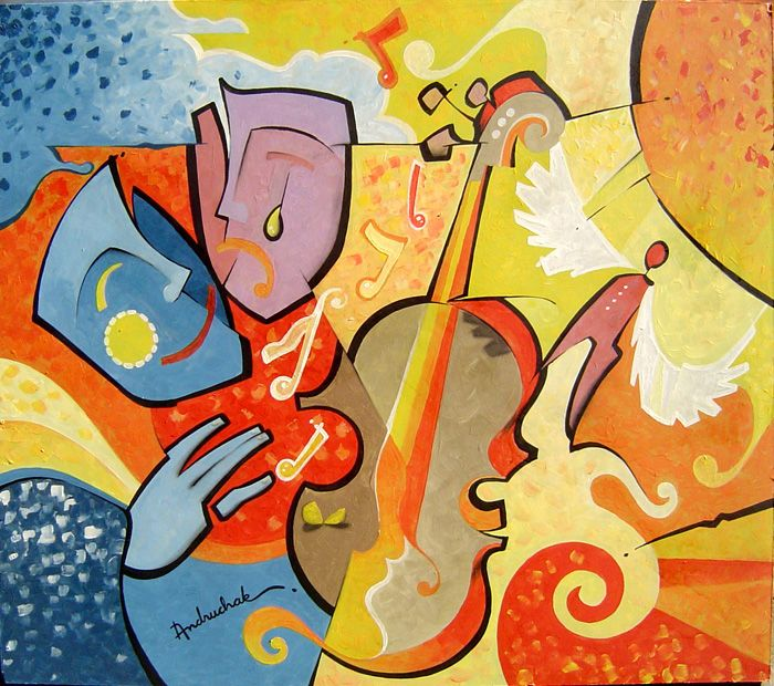 Music and Art a way to express what you feel.