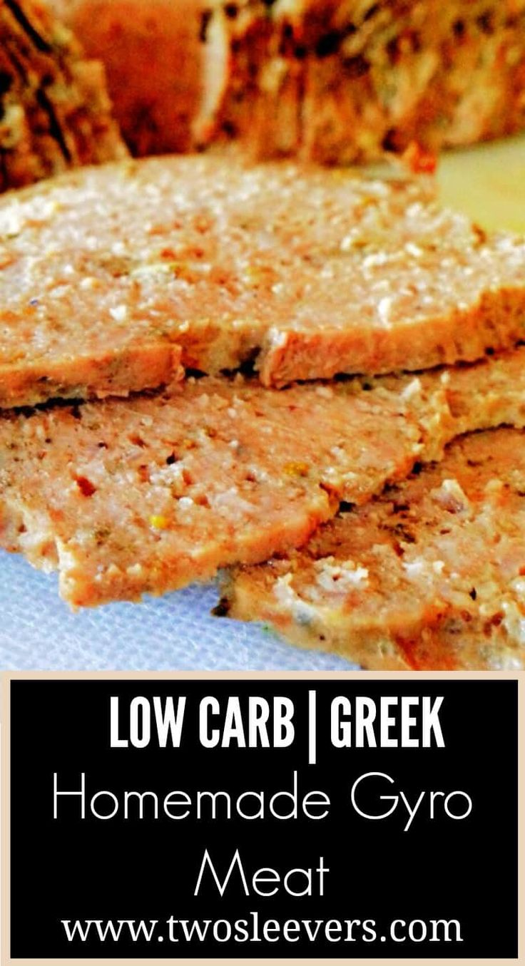 Come and enjoy Homemade Gyro Meat without any of the normal regrets afterward! via @twosleevers