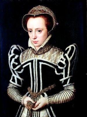 """Mary Tudor (1516 - 1558) born in Greenwich, daughter of Katharine of Aragon and King Henry VIII. Princess Mary Tudor was revered as the much loved only daughter of the King and Queen of England until her father cast aside her mother for another woman, Anne Boleyn, who gave birth to Mary's half brother, Edward. Despite some wrangling, Mary became queen on Edward's untimely death, and subsequently earned the sobriquet """"Bloody Mary"""" due to her executions of Protestants."""