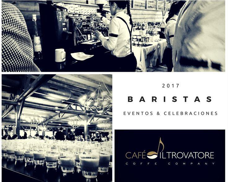 Equipo de baristas Café Il Trovatore