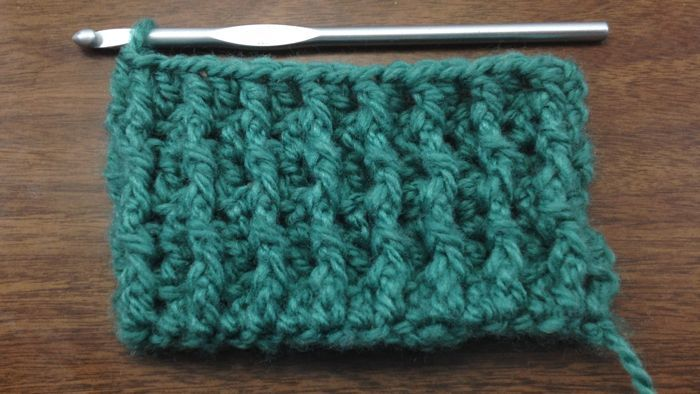 How To Crochet The Back Post Double Crochet Stitch Bpdc