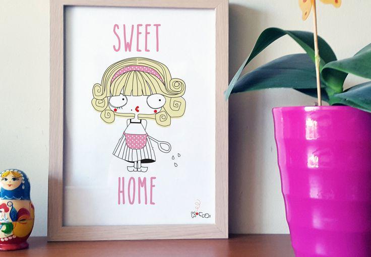 Goldilocks Art Print | Wall Art, Kids Decor, Art Print for Kids, Kids Decor, Illustration Printable (Download File) by KoCcos on Etsy
