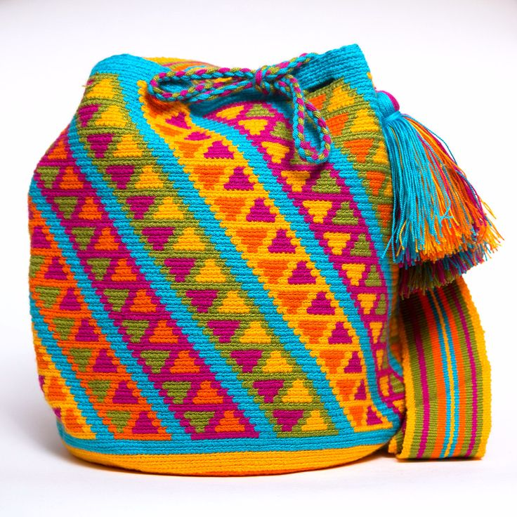 Cabo Wayuu Mochila bags are intricate in their designs, can take approximately…