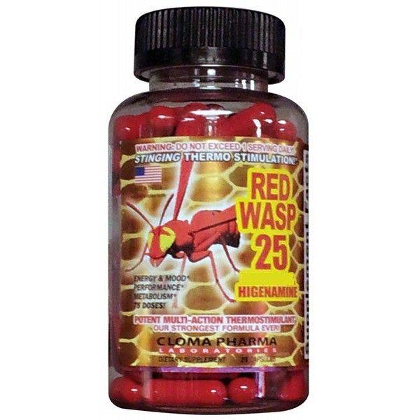 Cloma Pharma Red Wasp fat burner http://suppz.com/cloma-pharma-red-wasp-75-caps.html