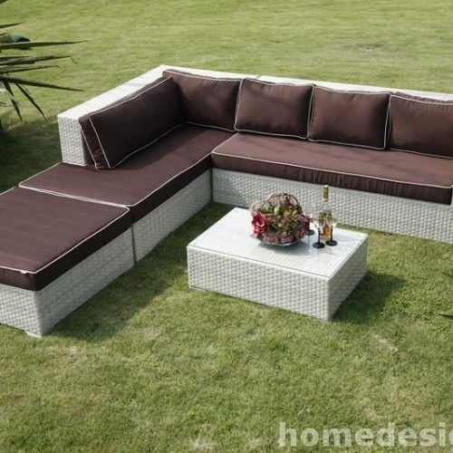 2015 Rattan Effect Garden Furniture Sets