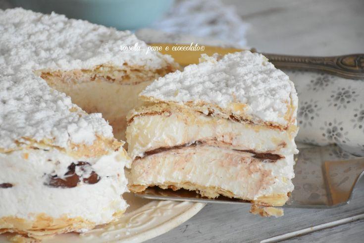 Torta Deliziosa di pasta sfoglia e nutella