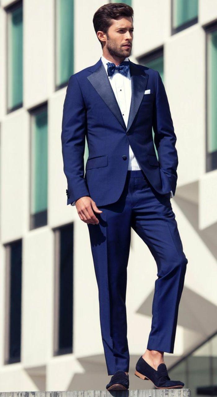 48c8cea966605 ▷ 1001 + Idées pour porter le costume bleu roi + comment se ...