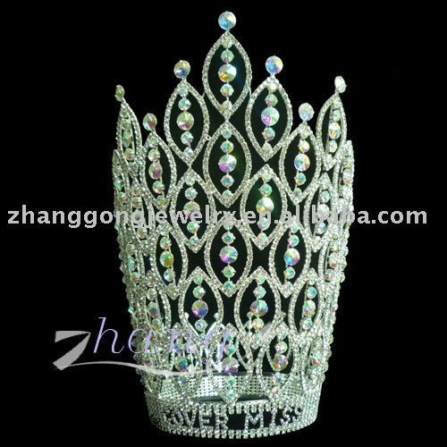 AB crown alibaba | Fashion beauty rhinestone pageant crown, View pageant crowns, ZG ...