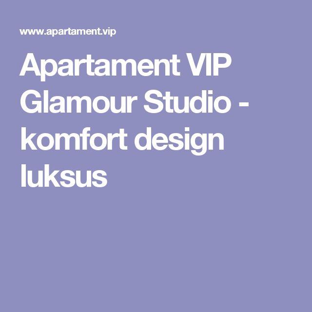 Apartament VIP Glamour Studio - komfort design luksus