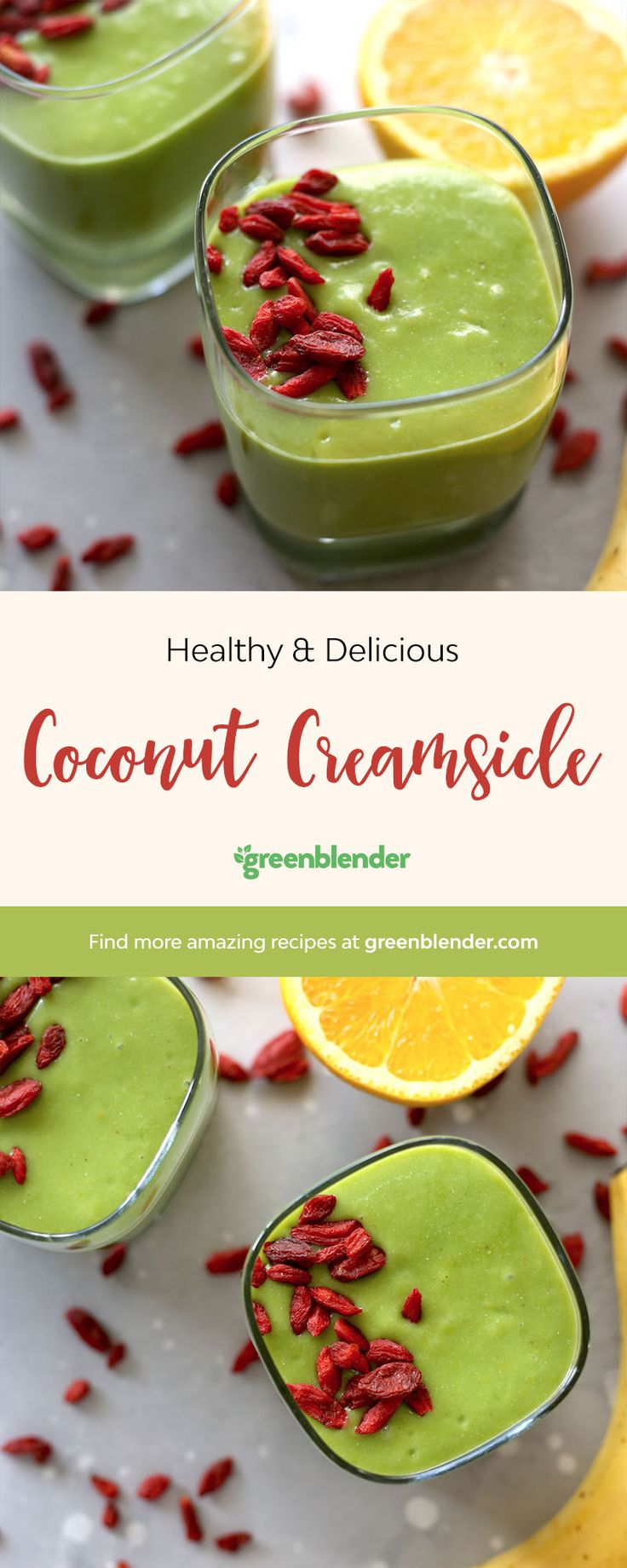 This low fat, low calorie smoothie is tropical vacation for your taste buds