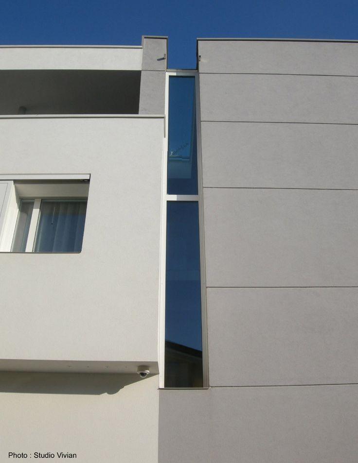 Urban-House: dettaglio facciata