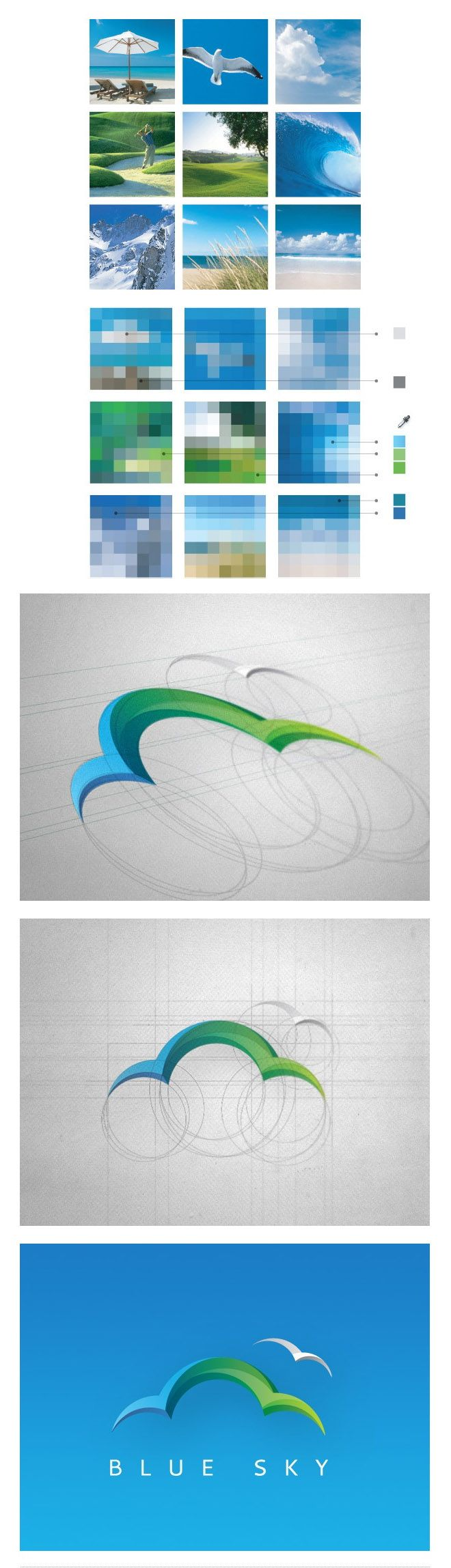 35 Creative and Beautiful Branding Identity Design examples