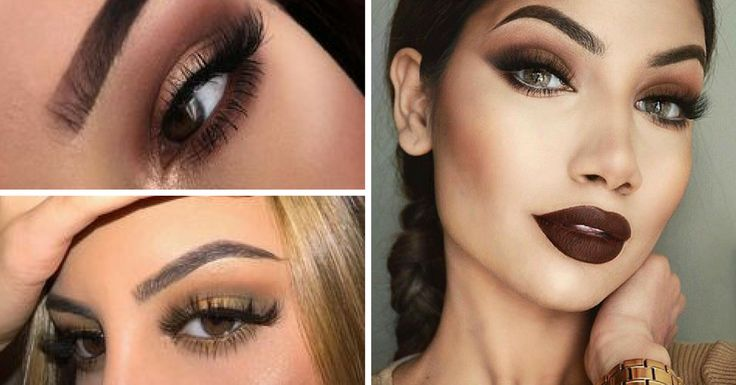 Maquiagem Marron Passo a Passo - http://webfeminina.com/maquiagem-marron-passo-passo/