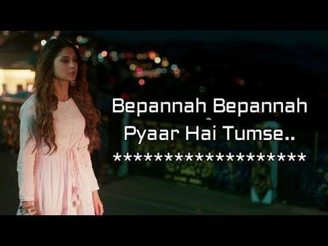Bepannah Serial || Full Title Song With Lyrics | Male