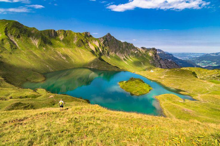 Wanderung zum Schrecksee bei Hinterstein im Allgäu