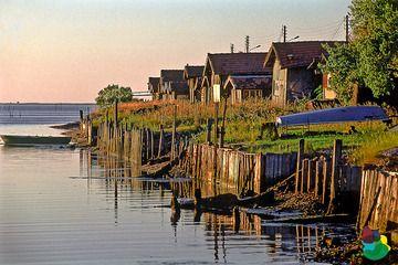 Port de Gujan-Mestras. Gironde.