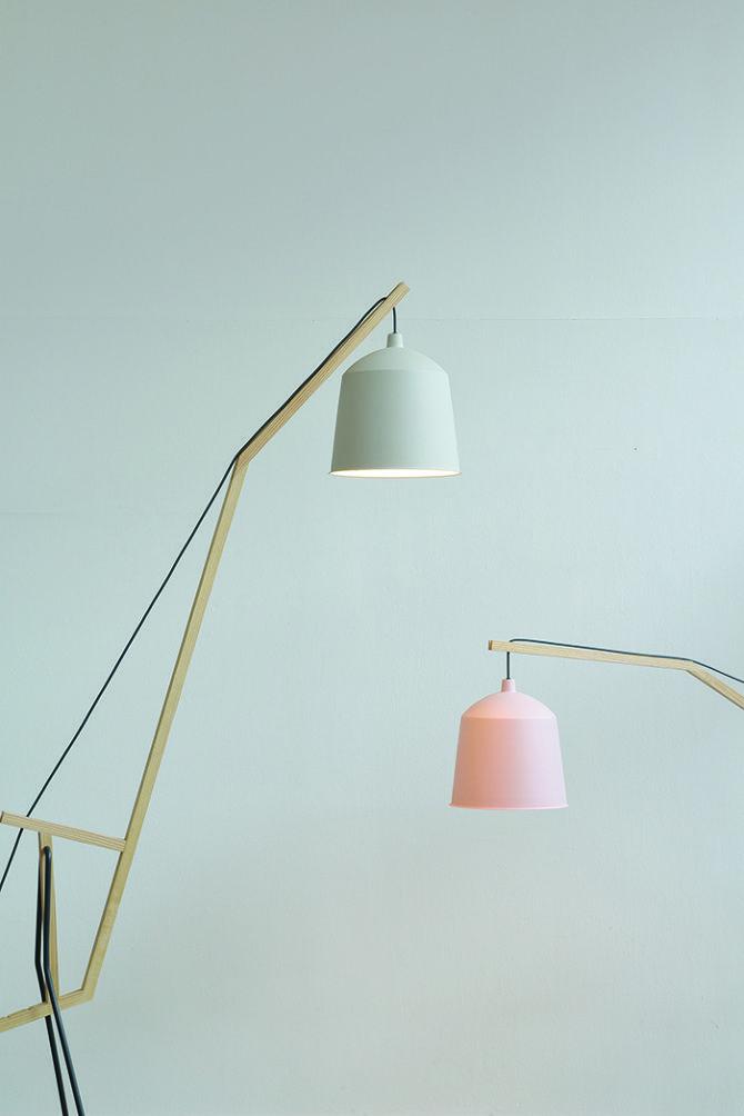 a floor lamp by aust