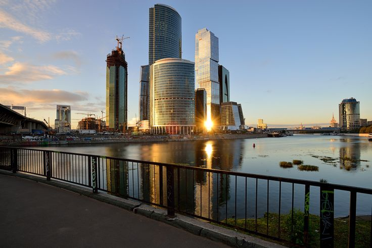 Reflected Sunset in Moscow City - Moscow International Business Center (Russian: Московский Международный Деловой Центр, Moskovskiy Mezhdunarodniy Delovoy Tsentr; ММДЦ, MMDTs ), also referred to as Moscow-City[1][2] (Russian: Москва-Сити, Moskva Siti) is a commercial district in central Moscow, Russia. Located near the Third Ring Road in Presnensky District of western Moscow, the Moscow-City area is currently under development. What I personally like in this photo except interesting light…