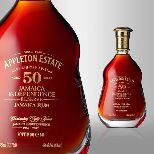 Appleton Estate 50-Year-Old Jamaica Independence Reserve Rum