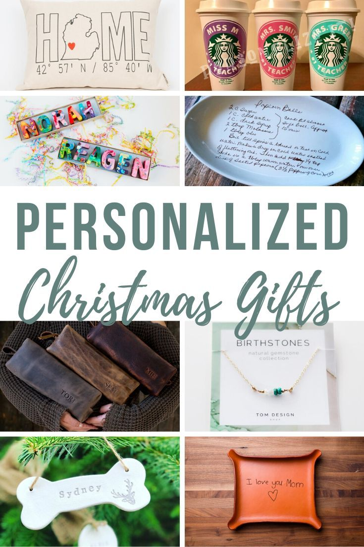 16 Awesome Personalized Christmas Gifts Making Manzanita Personalized Christmas Gifts Personalized Christmas Diy Birthday Gifts For Mom