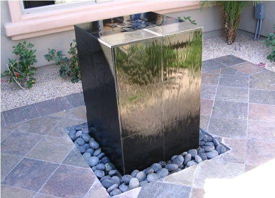 Diy water feature art design life pinterest for Easy diy outdoor water features