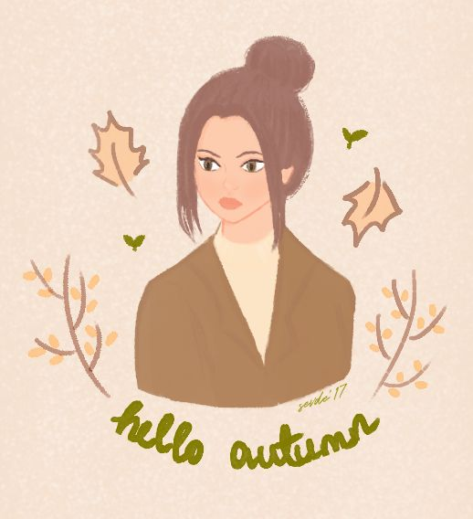 #autumn #girl #season #kitchen #architect #interiordesign #design #illustration #girl #floor #illustrator #art