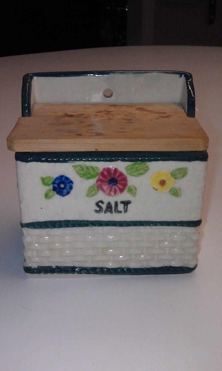 Beautiful vintage salt cellars set of 4 - The Salt Box